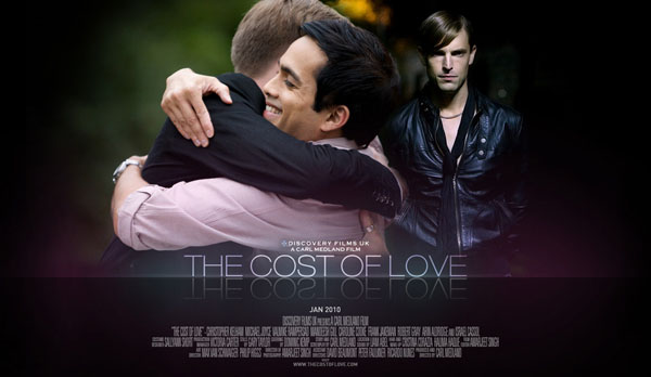 Poster for the cost of love movie