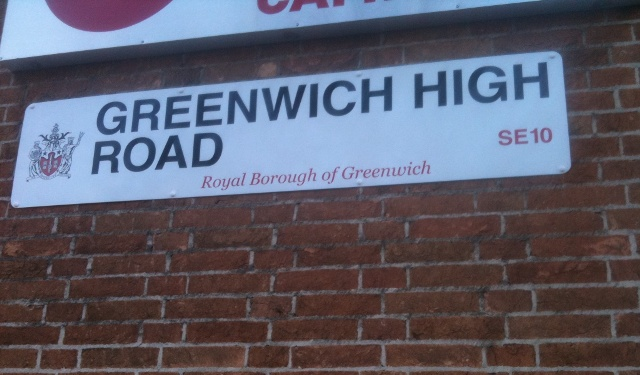 greenwich high road: