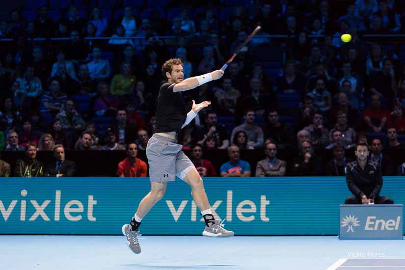 ATP World Tour Finals Day Two, O2 Arena, London, United Kingdom
