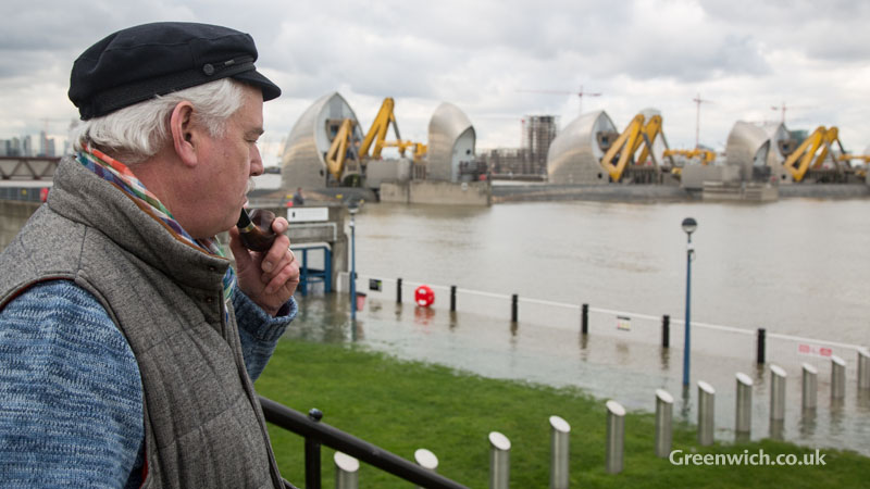 Thames Barrier Closure 10/02/2016