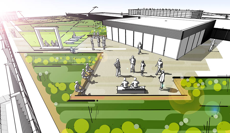 ikea starts assembling new greenwich peninsula store. Black Bedroom Furniture Sets. Home Design Ideas