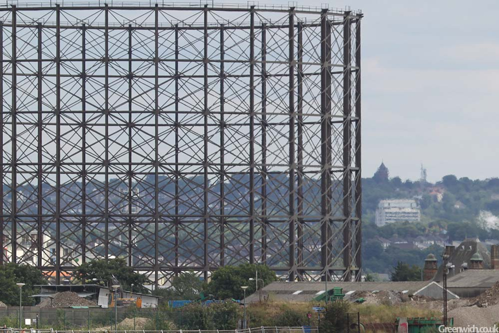 Jumbo the Greenwich Gasholder to be demolished   Greenwich co uk